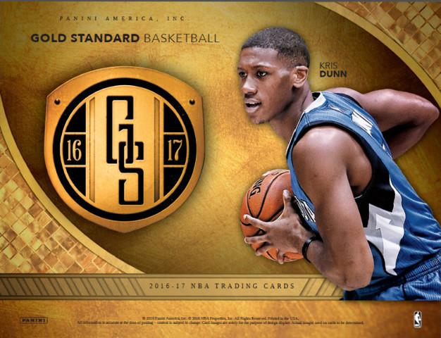 2016/17 Panini Gold Standard Basketball 12 Hobby Box Case (Sealed)