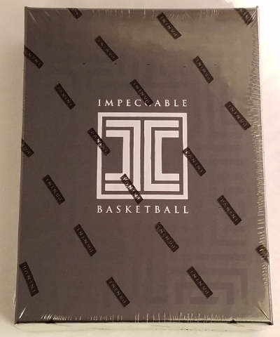 2016/17 Panini Impeccable NBA Basketball Hobby Box (6 Card s)(Sealed)