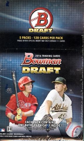 2016 Bowman Draft Picks & Prospects Baseball Super Jumbo Box (Sealed)