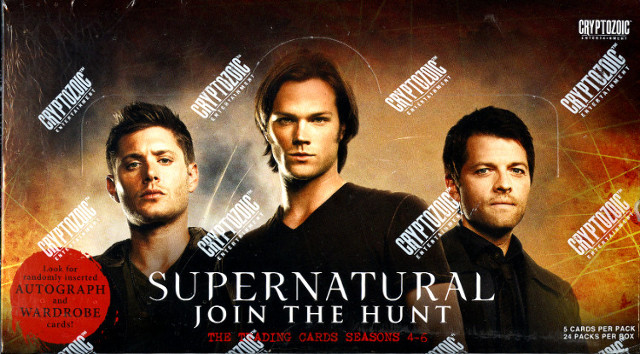Supernatural Join the Hunt Season 4-6 Trading Cards Cryptozoic Sealed 2016 Box
