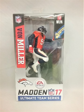 Von Miller Madden 17 McFarlane Figure Series 2 EA Sports Ultimate Team Series