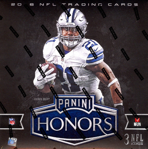 2016 Panini Honors Football Hobby Box (Sealed)