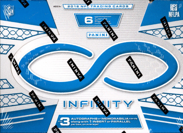 2016 Panini Infinity Football Hobby 6 Card Pack/Box (Sealed)