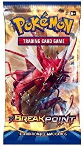 1 Pokemon TCG XY Break Point Sealed Booster Pack (English) (Trading Card Game)