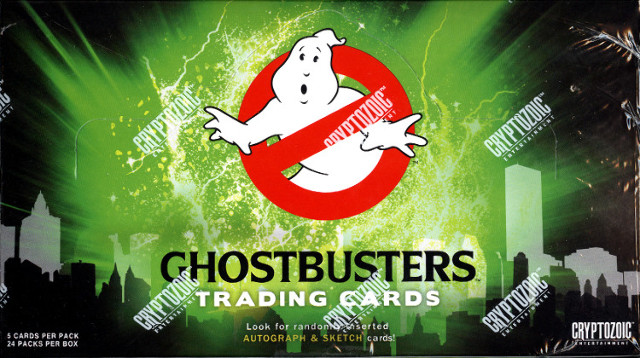 Ghostbusters Trading Cards Hobby Box (Sealed) (Cryptozoic) 2016