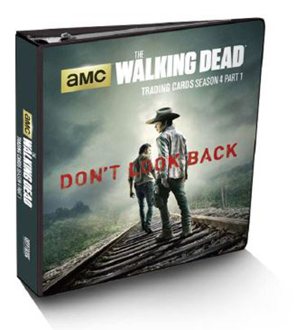 Cryptozoic Sealed The Walking Dead Season 4 Part 1 Binder Metal Card & 10 Pages