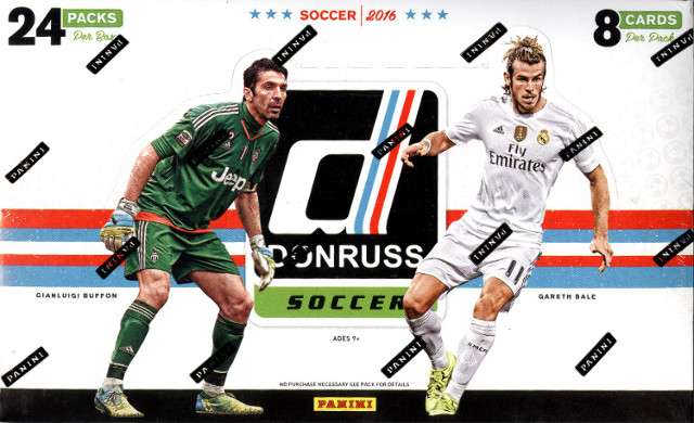 2016 Panini Donruss Soccer 24 Pack Hobby Box (Sealed) (Futbal)