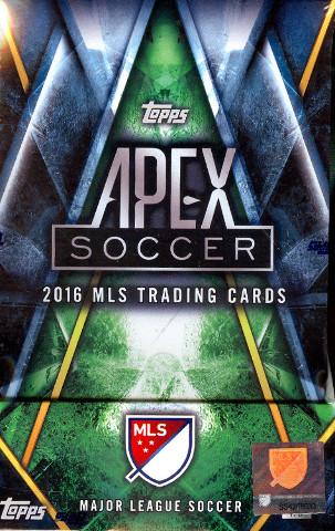 2016 Topps APEX MLS 2 Mini-Box/Pack Hobby Master Box (Sealed)