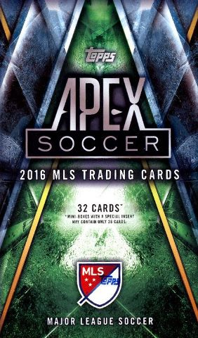 2016 Topps APEX MLS 32 Card Hobby Mini-Box/Pack (Sealed)