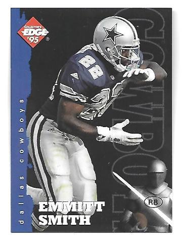 EMMITT SMITH 1995 Collector's Edge Dallas Cowboys