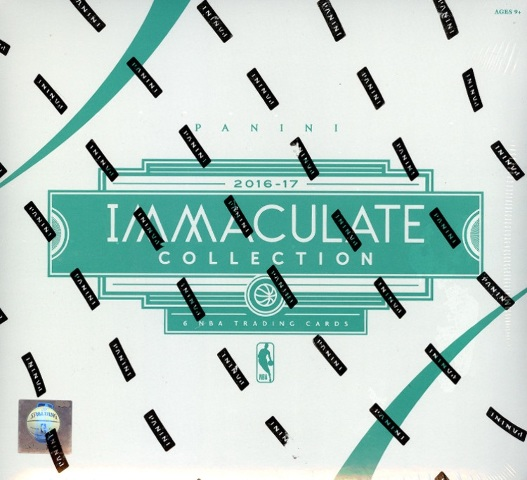 2016/17 Panini Immaculate Collection NBA Basketball 6 Card Hobby Box/Pack Sealed