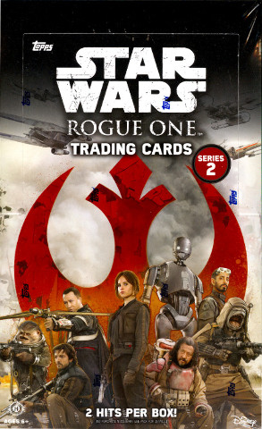 2017 Topps Star Wars Rogue One Series 2 Hobby 24 Pack Box (Factory Sealed)