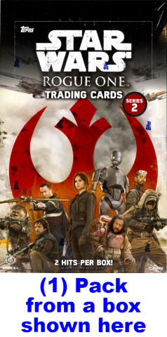 2017 Topps Star Wars Rogue One Series 2 Hobby 8 Card Pack (Sealed)(Random)
