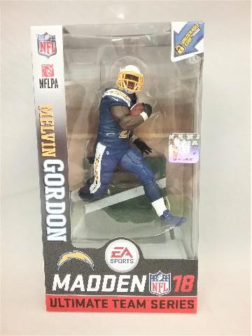2017 Melvin Gordon Madden McFarlane's Sportspicks Figure Los Angeles LA Chargers Series 1 NFLPA Ultimate Team Series 18