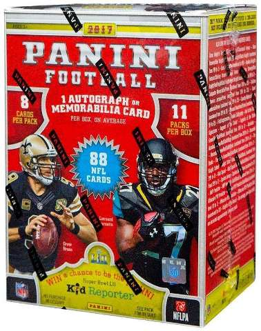 2017 Panini Football Blaster Box (Sealed)