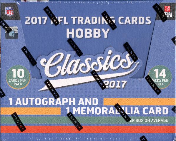 2017 Panini Donruss Classics Football Hobby 14 Pack Box (Sealed)