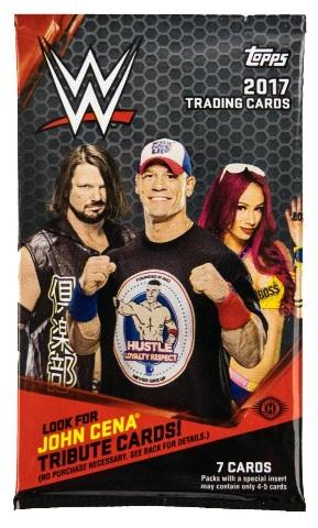 2017 Topps WWE Wrestling Hobby (7 Card) Pack (Factory Sealed)(Random)