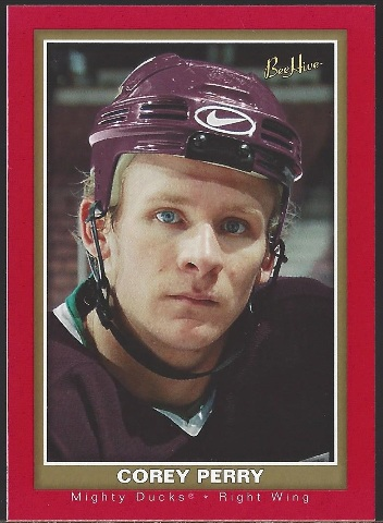 Corey Perry Anaheim Mighty Ducks 2005-06 Beehive Red #104
