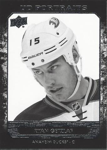 Ryan Getzlaf Anaheim Ducks 2014-15 UpperDeck Series Two Hockey UD Portraits #P-40