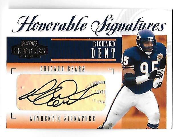 RICHARD DENT 2005 Playoff Honors Honorable Signatures auto /150 autograph