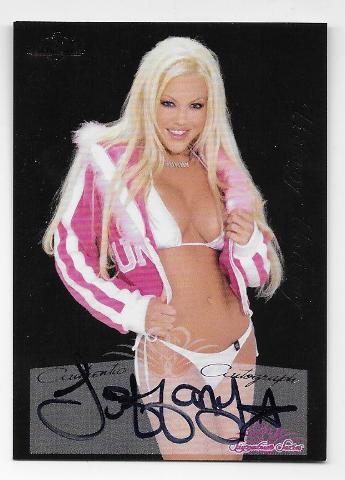 Tiffany Holiday 2005 Benchwarmer Signature Series auto #68