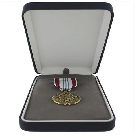 Vanguard Defense Meritorious Service Military Medal Award Presentation Set