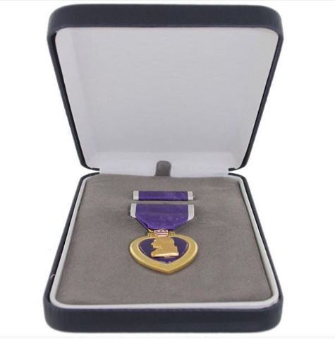 Vanguard Full Size Purple Heart Medal Presentation Set (PH)