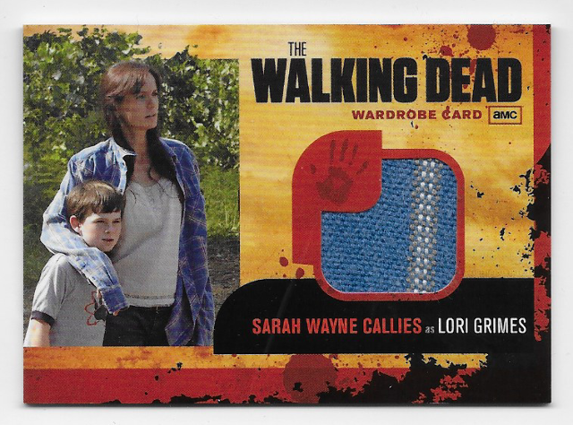 Sarah Wayne Callies Lori Grimes 2011 Cryptozoic Walking Dead Wardrobe Card M3