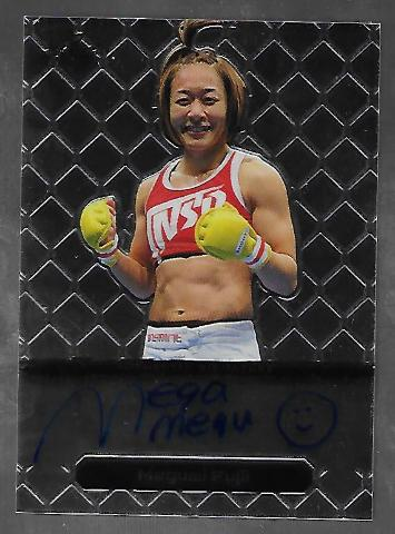 MEGUMI FUJII 2011 Leaf MMA Metal Authentic Signature auto autograph GAMF1 UFC a