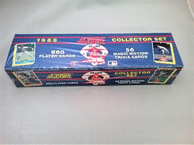 1989 Score Baseball Factory Set Sealed