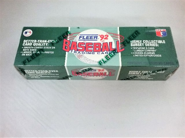 1992 Fleer Baseball Factory Set Sealed