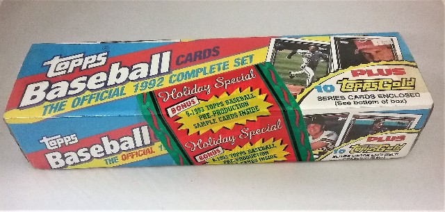1992 Topps Baseball Holiday Factory Set Sealed