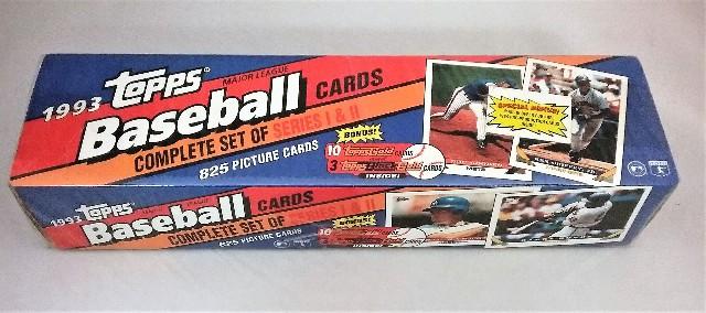 1993 Topps Baseball Factory Set Sealed