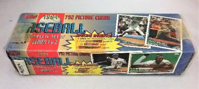 1994 Topps Baseball Factory Set Sealed