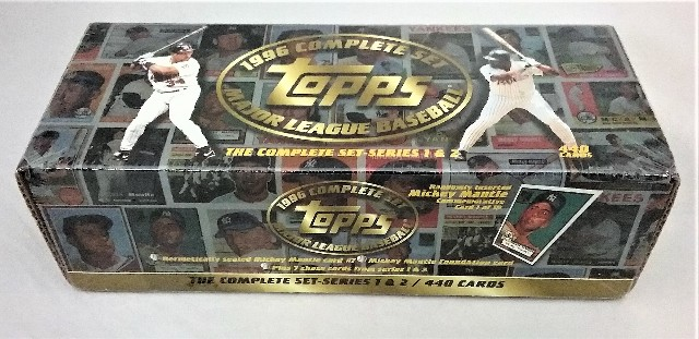 1996 Topps Baseball Factory Set Sealed