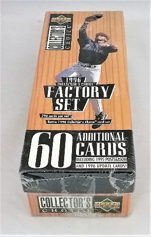 1996 Upper Deck Collector's Choice Baseball Factory Set Sealed
