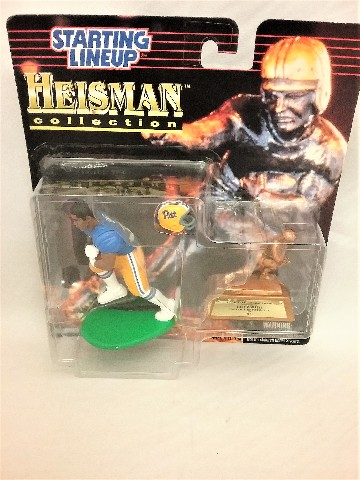 1997 Tony Dorsett Starting Lineup Heisman collection 1976 University of Pittsburgh Panthers McFarlane