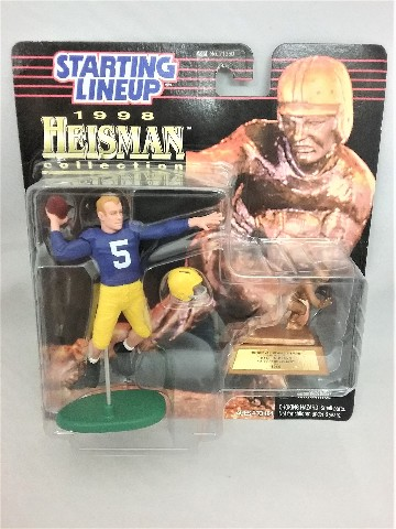 1998 Paul Hornung NFL Starting Lineup Heisman Collection 1956 University of Notre Dame McFarlane Notre Dame Academy