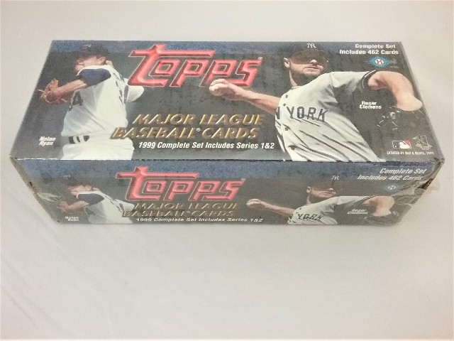 1999 Topps Baseball Factory Set Sealed