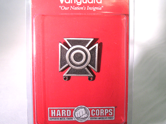 Vanguard US Army Sharpshooter Badge Regulation Size Silver Oxidized Finish