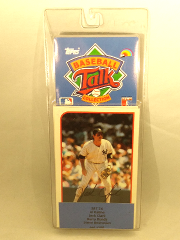 1989 Topps Baseball Talk Collection Set 24 Soundcards NIP NOS Barry Bonds