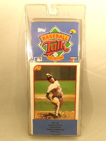 1989 Topps Baseball Talk Collection Set 40 Soundcards NIP NOS Frank Viola