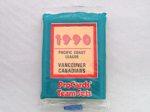 1990 ProCards Vancouver Canadians Minor League Complete UNOPENED Team Set