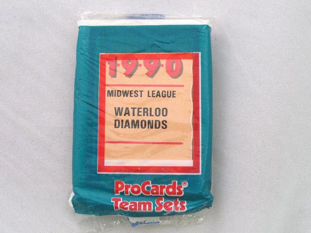 1990 ProCards Waterloo Diamonds Minor League Complete UNOPENED Team Set