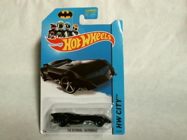 Hot Wheels 2014 HW City The Batman Batmobile 61/250 BFC73 Pop Culture Mattel