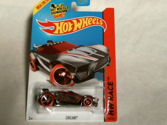 Hot Wheels HW Race 2015 Super Chromes Chicane Treasure Hunts 162/250 CFL03