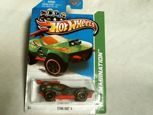 Hot Wheels 2013 HW Imagination Sting Rod II Treasure Hunts 51/250 X1702
