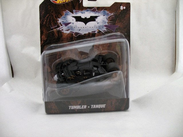 Hot Wheels 2011 Batman The Dark Knight Black Tumbler X4034 1:50 Scale Mattel Very Rare