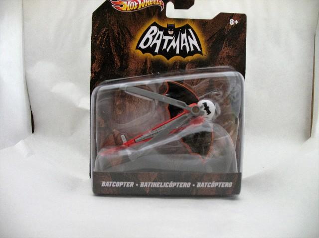 Hot Wheels 2011 Batman Batcopter X3081 1:50 Scale Mattel