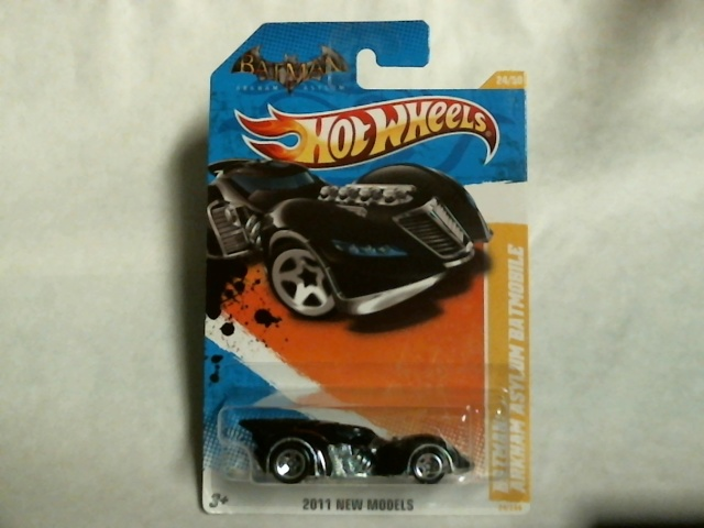 Hot Wheels 2011 New Models Batman Arkham Asylum Batmobile 24/50 T9694 Matell